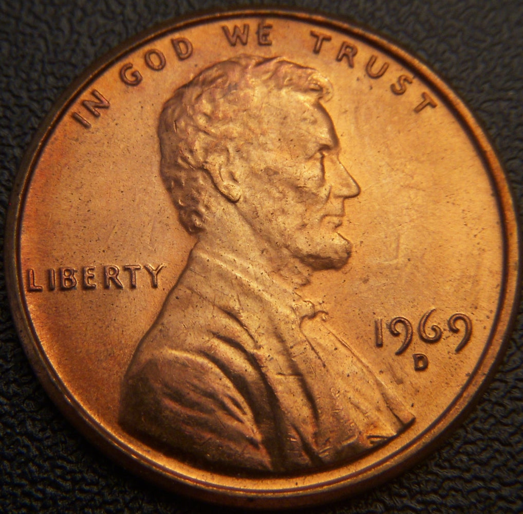 1969-D Lincoln Cent - Uncirculated