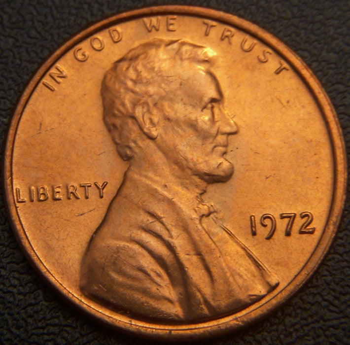 1972 Lincoln Cent - Uncirculated
