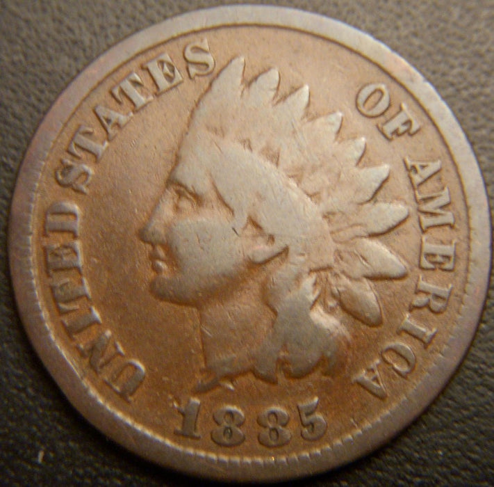 1885 Indian Head Cent - Good