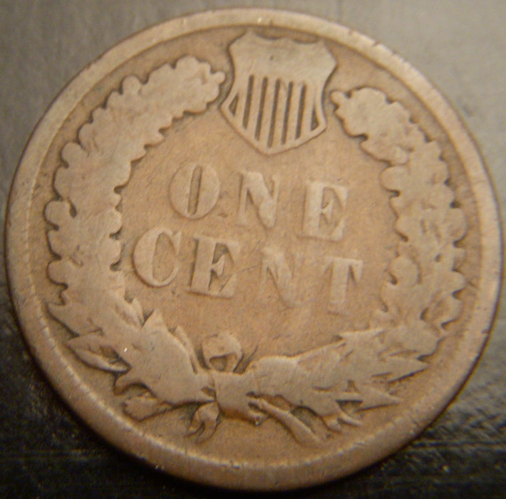 1886 Indian Head Cent - T1 I/C