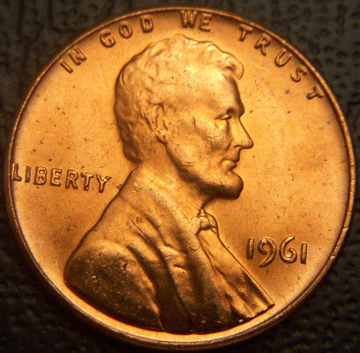1961 Lincoln Cent - Uncirculated