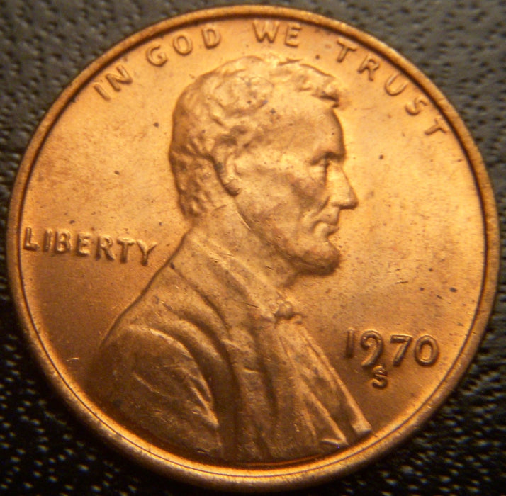 1970-S Lincoln Cent - Uncirculated