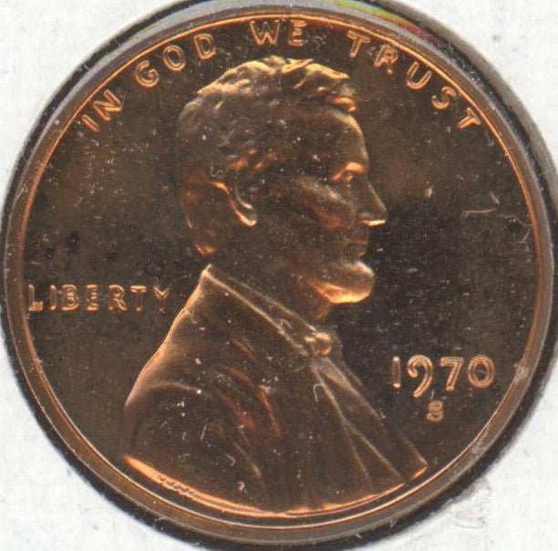 1970-S Lincoln Cent - Proof