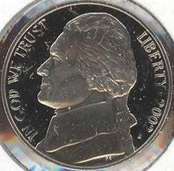 2002-S Jefferson Nickel - Proof