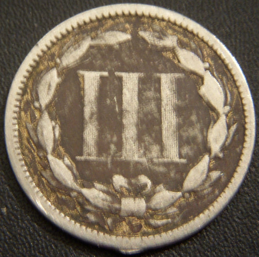 1873 Three Cent Piece O3 VG