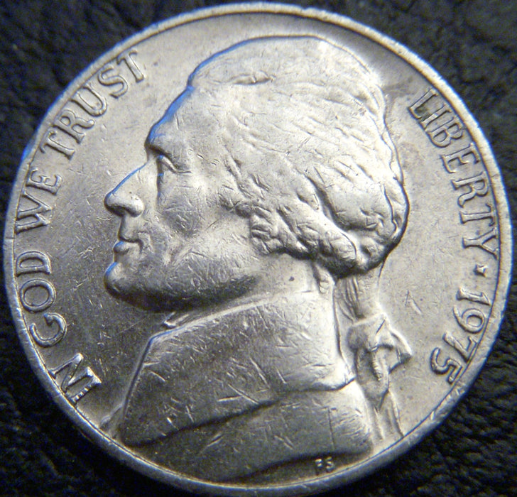 1975 Jefferson Nickel - VF to AU