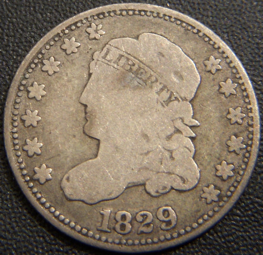 1829 Bust Half Dime - Very Good