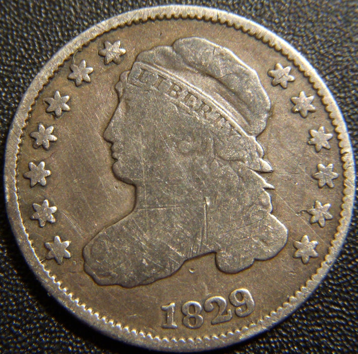 1829 Bust Dime - Very Good