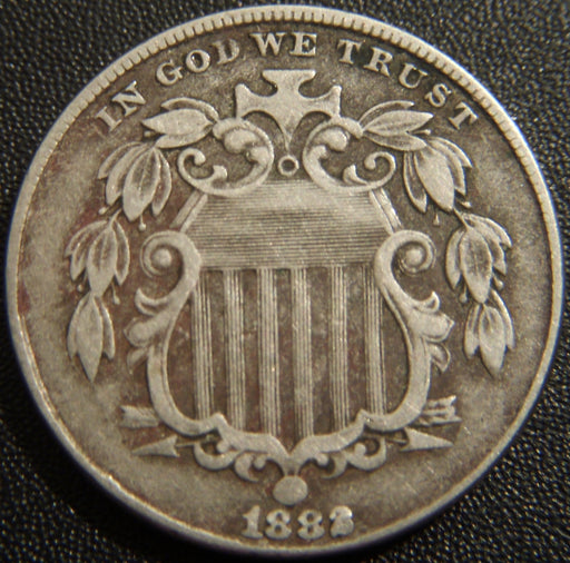 1882 Shield Nickel - Very Fine