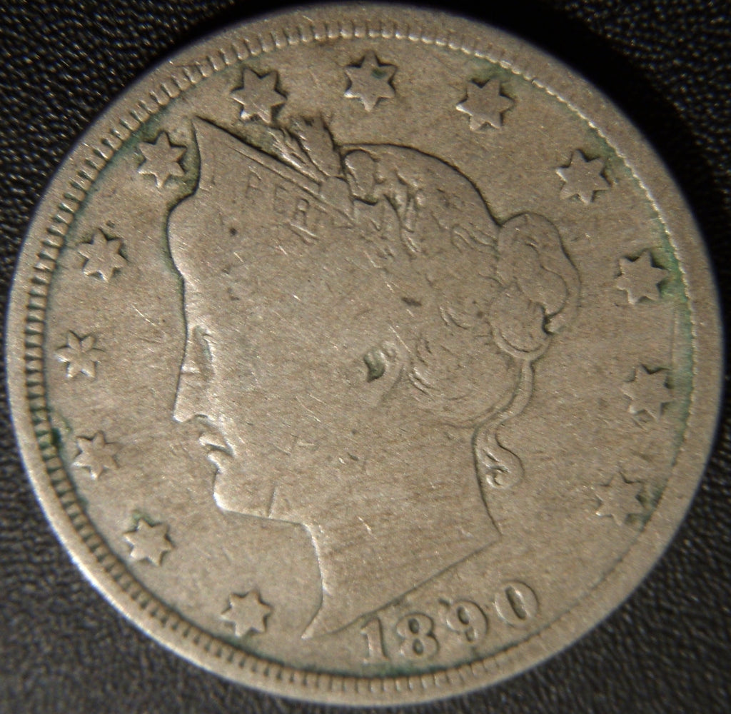 1890 Liberty Nickel - Very Good