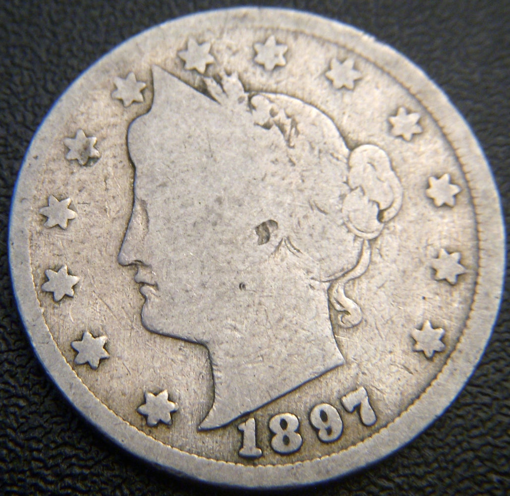 1897 Liberty Nickel - Good