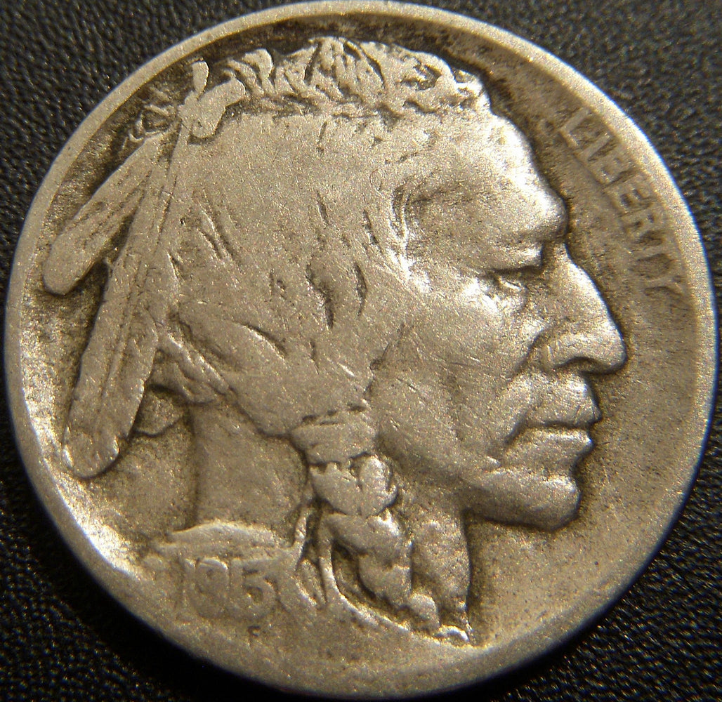 1913-D T2 Buffalo Nickel - Fine