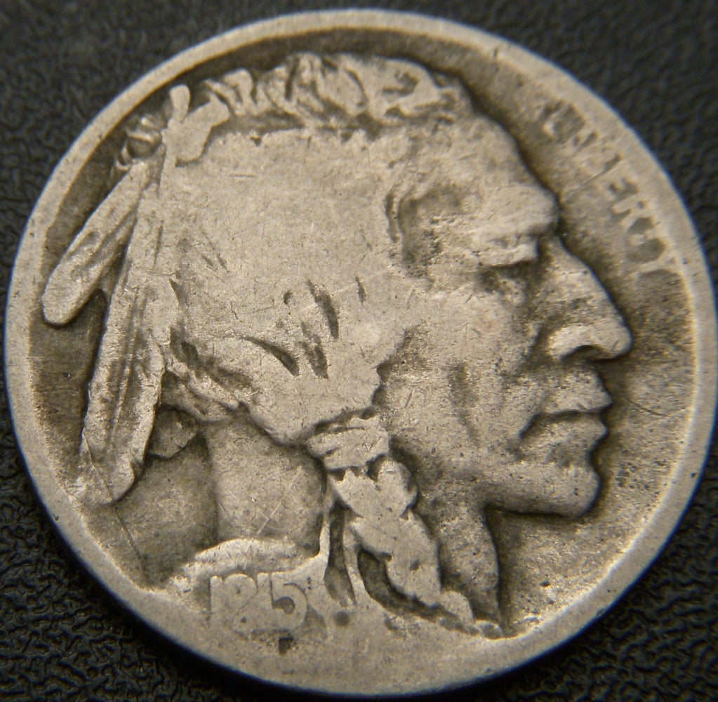 1915-S Buffalo Nickel - Good+