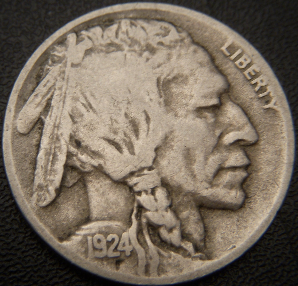 1924-D Buffalo Nickel - Fine