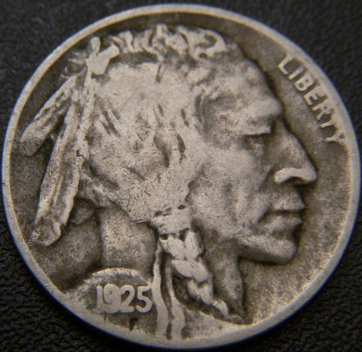 1925-D Buffalo Nickel - Fine