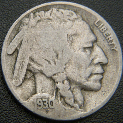 1930 Buffalo Nickel - Good/VG