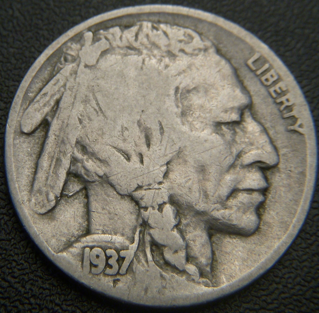 1937 Buffalo Nickel - Good/VG