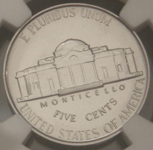 1940 Jefferson Nickel - NGC PF67 Reverse of 40