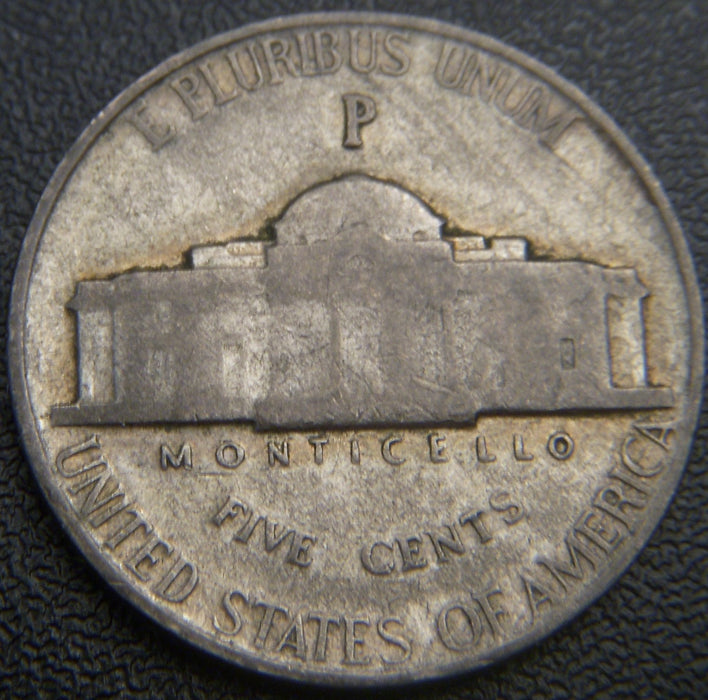 1943-P Silver Jefferson Nickel - Avg Cir