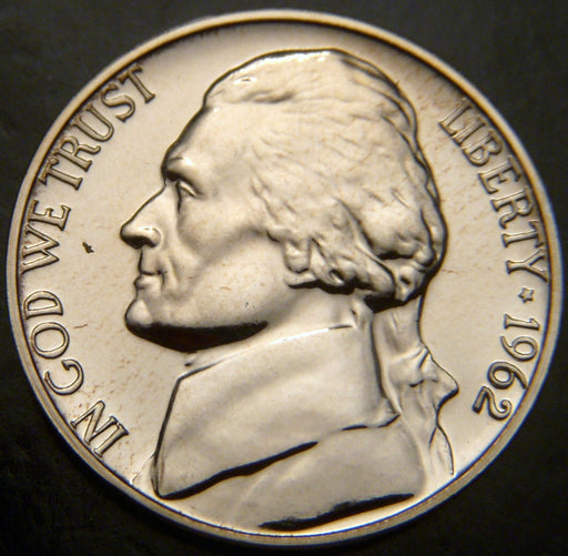 1962 Jefferson Nickel - Proof