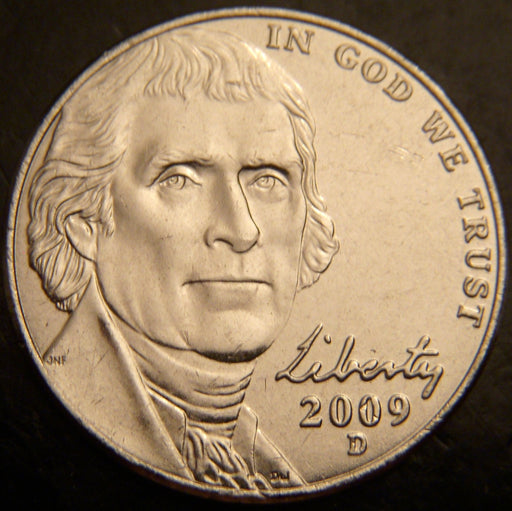 2009-D Jefferson Nickel - Unc.