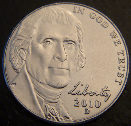 2010-D Jefferson Nickel - Unc.