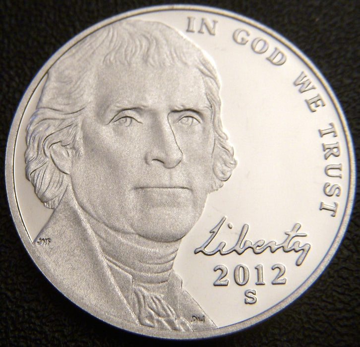 2012-S Jefferson Nickel - Proof