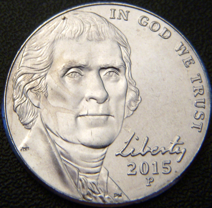 2015-P Jefferson Nickel - Unc.
