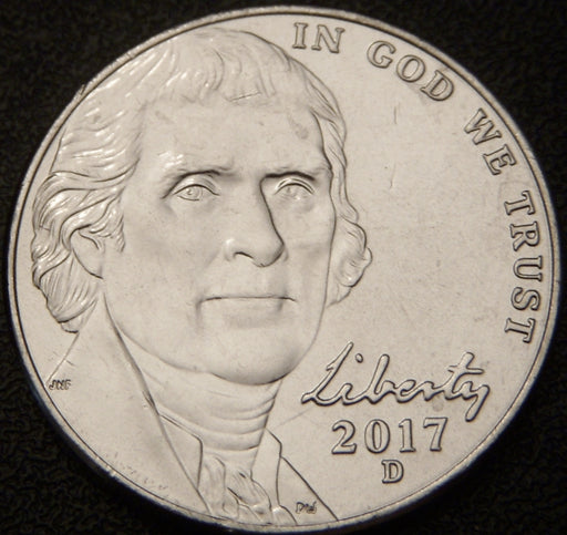 2017-D Jefferson Nickel - Unc.