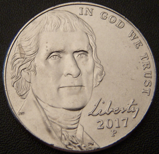 2017-P Jefferson Nickel - Unc.