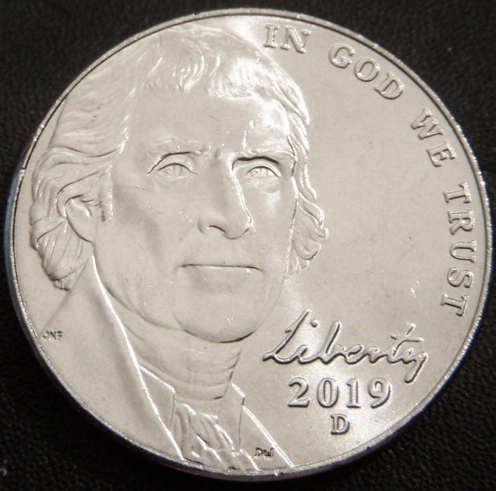 2019-D Jefferson Nickel - Uncirculated