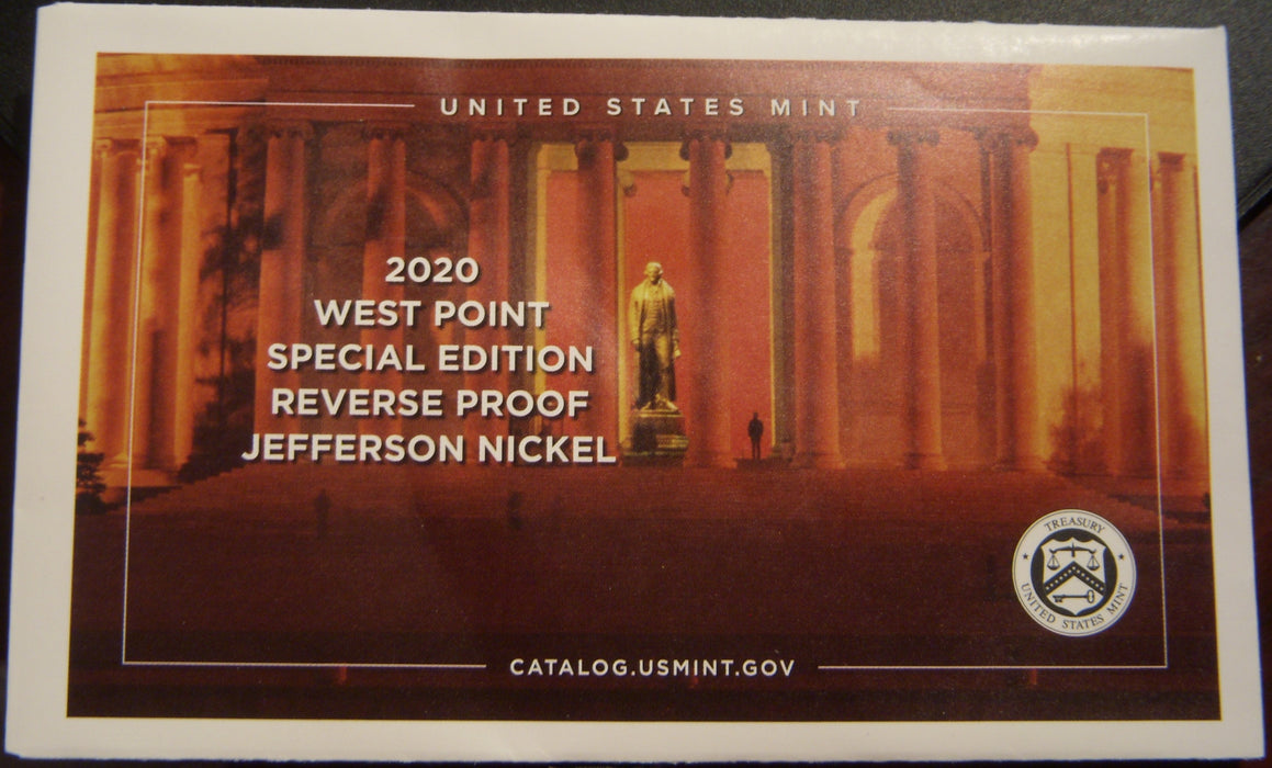 2020-W Jefferson Nickel - Reverse Proof