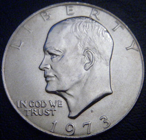 1973-D Eisenhower Dollar - Uncirculated