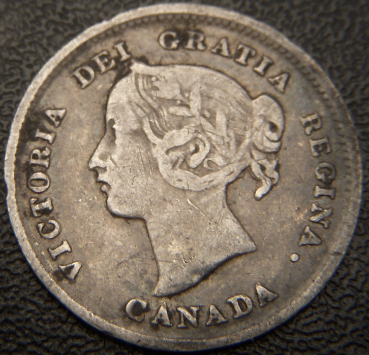 1894 Canadian Silver Five Cent - VF