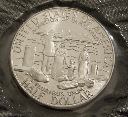 1986-D Statue of LIBERTY Commemorative Half Dollar - Unc.