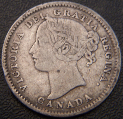 1894 Canadian Ten Cent - VF
