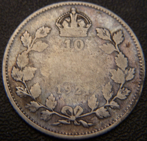 1921 Canadian Ten Cent