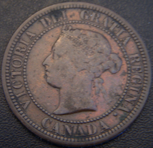 1881H Canadian Large Cent - F