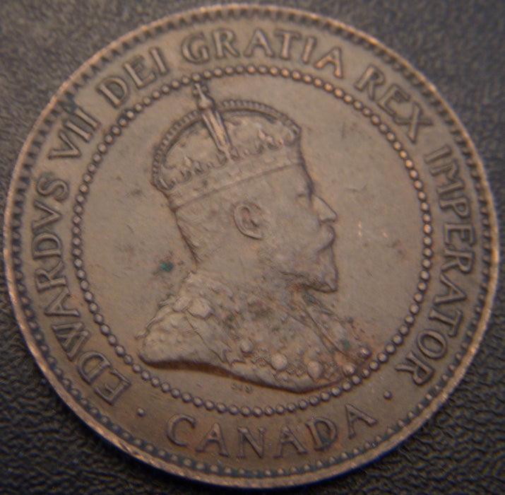 1903 Canadian Large Cent - EF
