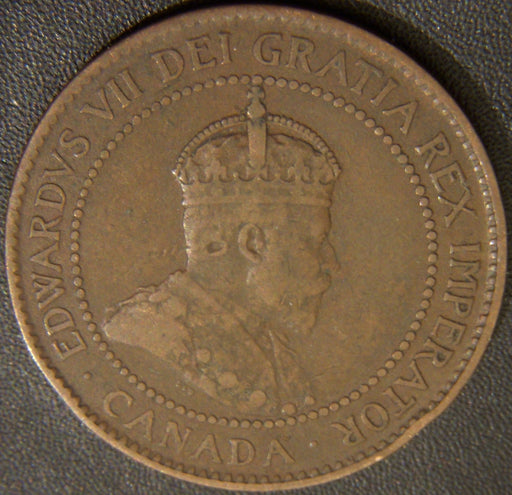 1903 Canadian Large Cent - VG/Fine