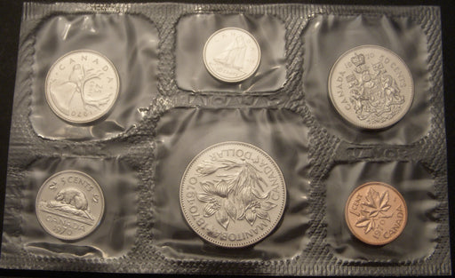 1970 CN 6 Piece Proof-Like Set