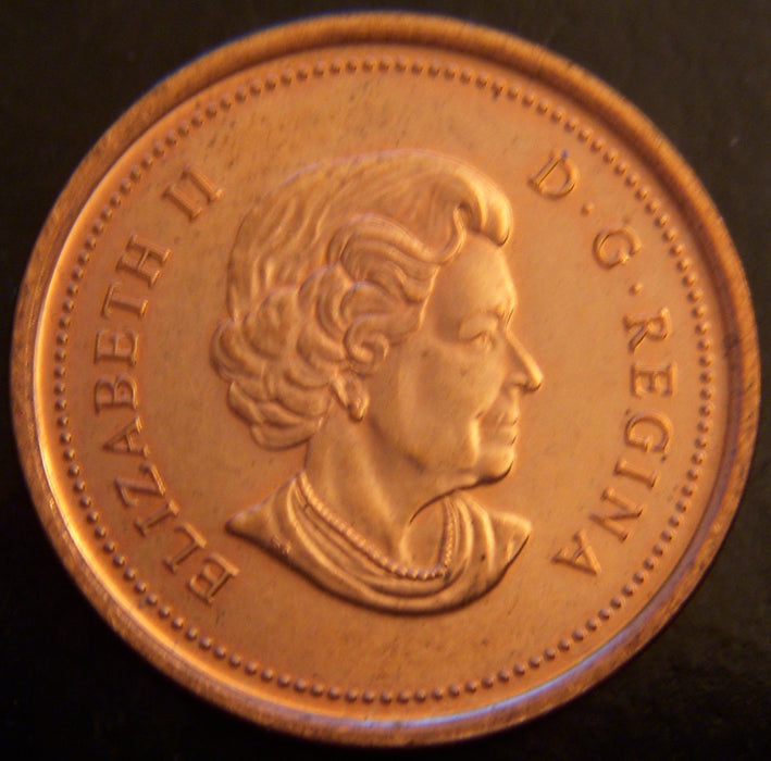 2004 Canadian Cent - VF to AU.