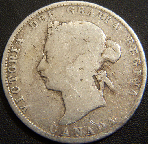 1872H Canadian Quarter