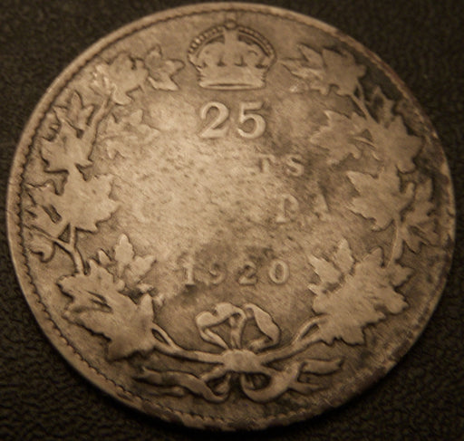 1920 Canadian Quarter - Good