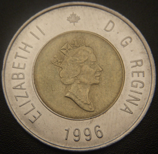 1996 Canadian $2 Coin VF to AU