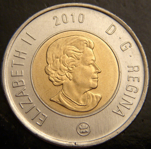 2010 Canadian Two Dollar - Unc
