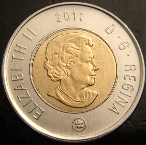 2011 Canadian Two Dollar - Unc