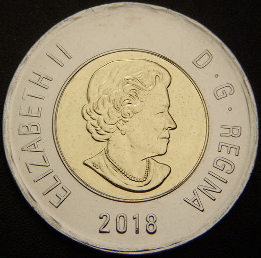 2018 Canadian 2 Dollar - Unc.