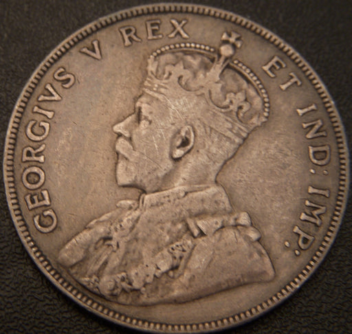 1911 Canadian Half Dollar - F