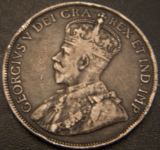 1914 Canadian Half Dollar - F